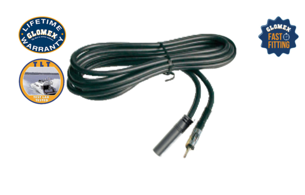 CE1262 - 12' RG-62 MOTOROLA FEMALE TO MOTOROLA MALE EXTENSION CABLE FOR FM ANTENNAS