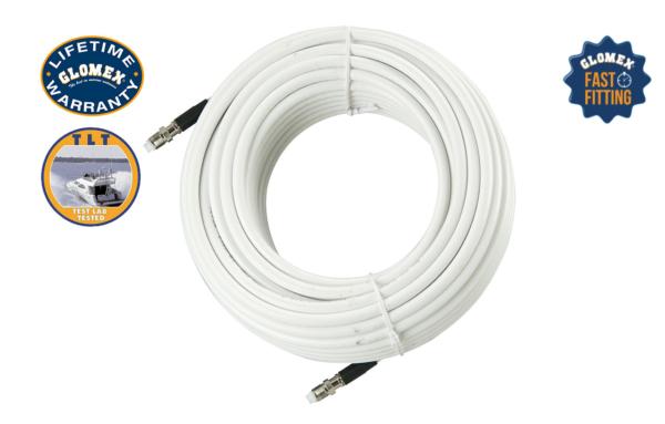GLOMEASY LINE Accessories - RA350/3FME - Glomex Marine Antennas USA