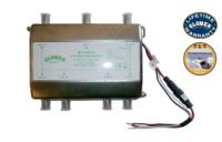 50022/10 - 6 WAY SPLIETTER WITH LINE AMPLIFIER - 12/24VDC