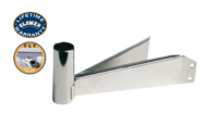 "TV Mounts - V9123 - 6.3"" SOLID STAINLESS STEEL MASTHEAD SLIP MOUNT FOR TV ANTENNAS"