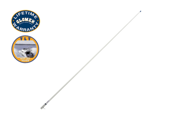 Classic VHF Line - RA1206CR - Glomex Marine Antennas USA