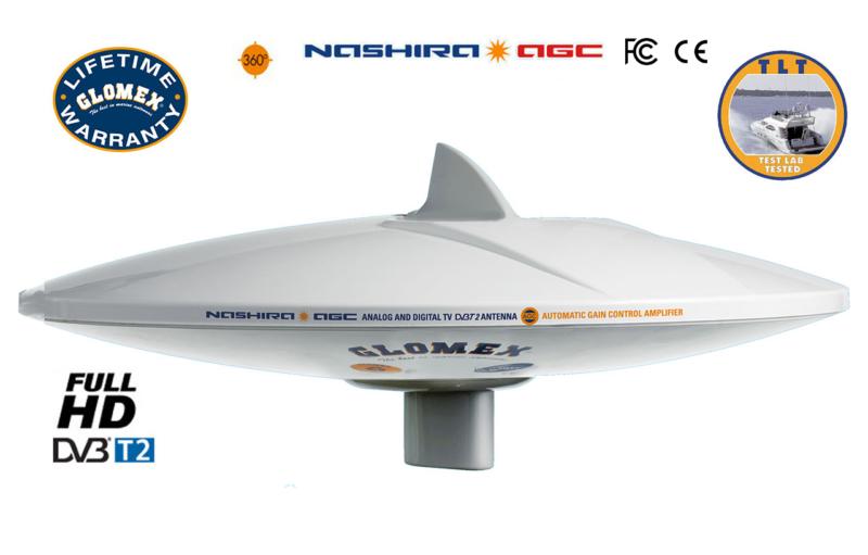 marine tv antennas nashira agc v9112agc
