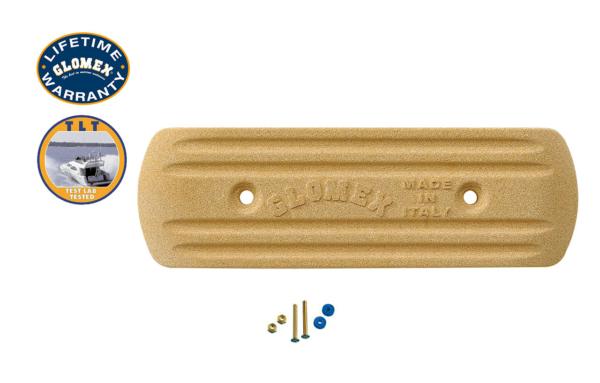 "Accessories - RA203 - 6""X 2"" X 0.6"" RECTANGULAR GROUND PLATE"